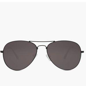 Brand New Diff Eyewear Black Aviators
